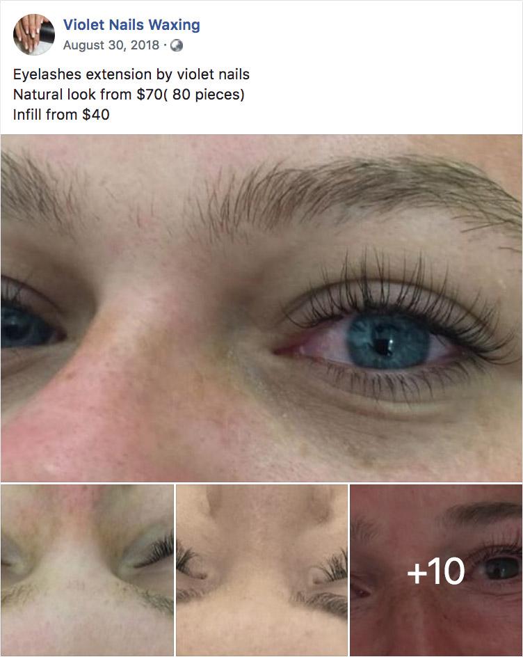 Violet Nails Wax